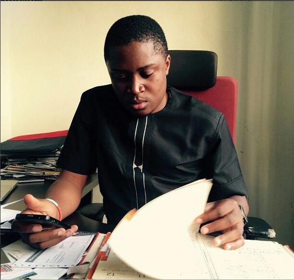Ugwu is manager of Chocolate City's CEO MI Abaga , Jess Jagz and others. Photo Credit: Twitter