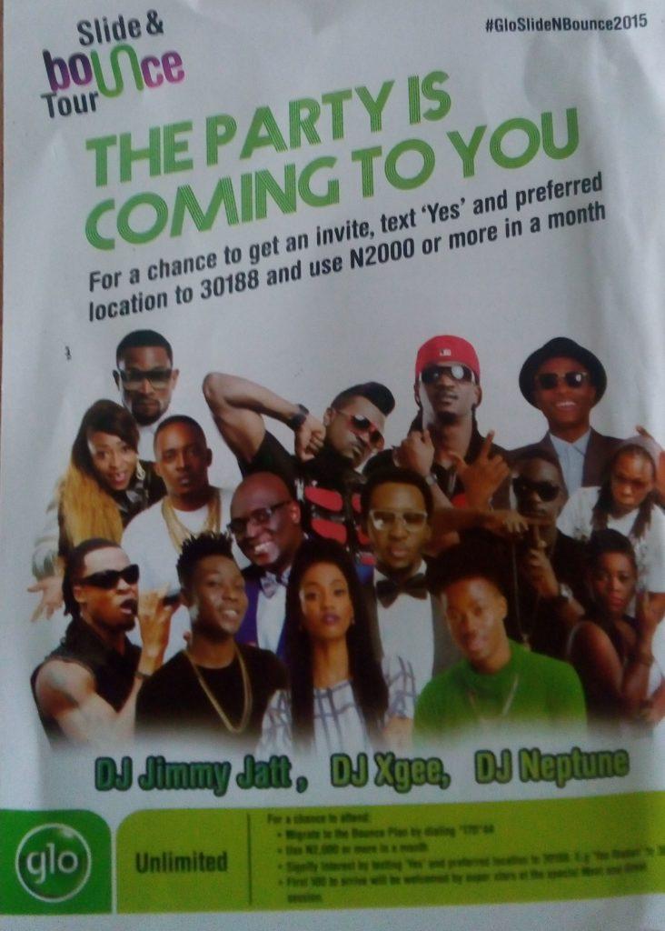 Glo Slice Bounce Ibadan