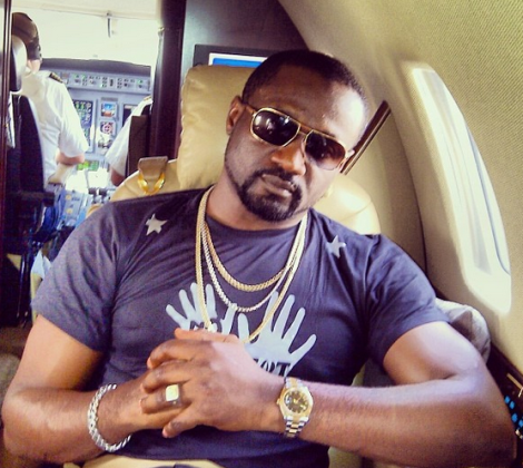 Jude Okoye is P-Square and Cynthia Morgan manager