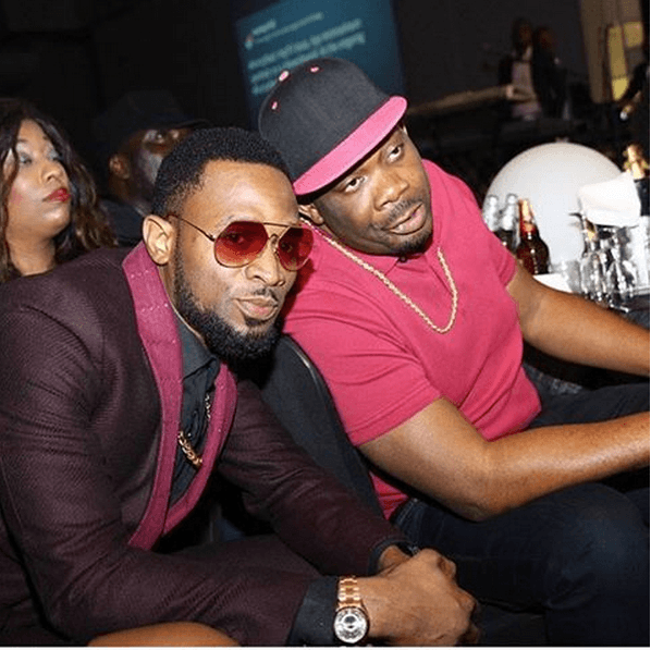 D'banj & Don Jazzy at 2Face Idibia FORTYfied Concert in Lagos