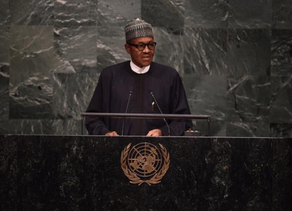 President Buhari Speaking in UN Summit