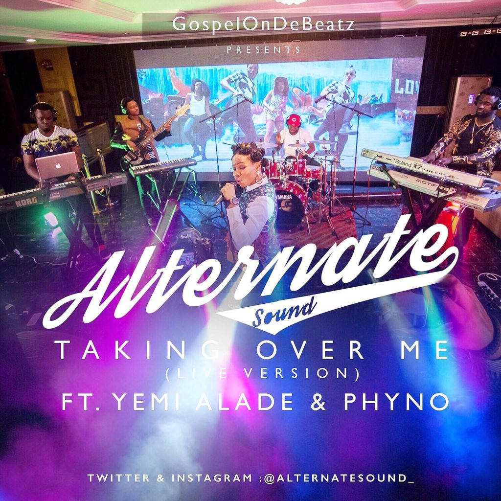 Yemi Alade -- Taking Over Me Live  Version Ft Phyno By Cover Art