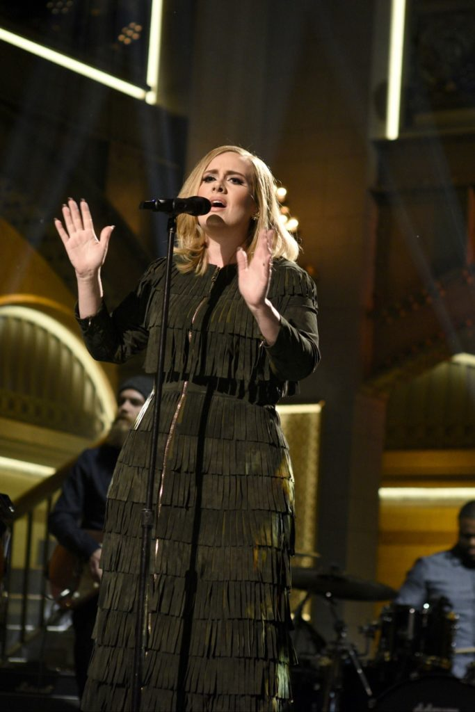 Adele Performing Hello