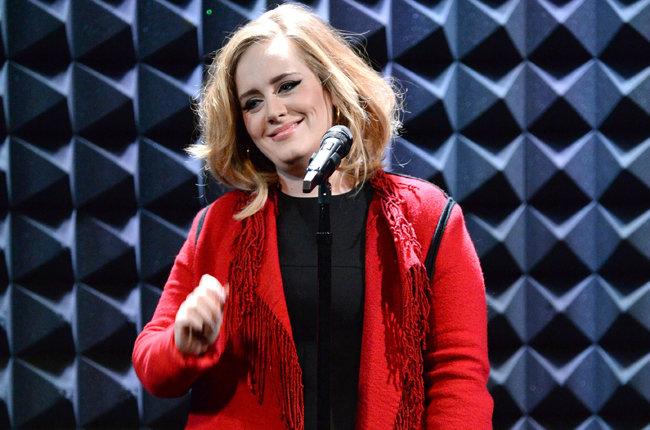 Adele Performing on iHeart Radio