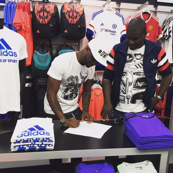 Peter Okoye Continues Mr P Adventure as He Sign Distribution Deal with American Company