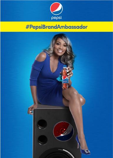 Seyi Shay Unveiled as Brand Ambassador for Pepsi