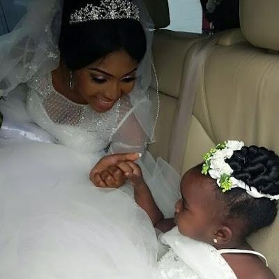 Ubi Franklin & Lilian Esoro White Wedding Photos 03
