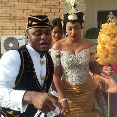 Ubi Franklin & Lilian Esoro White Wedding Photos 04