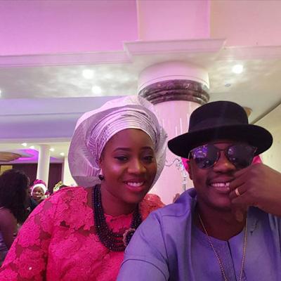 Ubi Franklin & Lilian Esoro White Wedding Photos 20