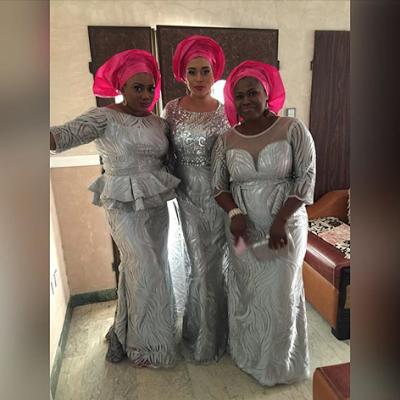 Ubi Franklin & Lilian Esoro White Wedding Photos 26