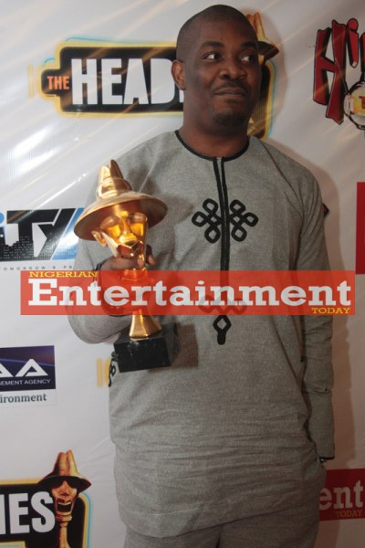 Don Jazzy at The Headies 2011