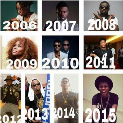 Going Back to History : All Winners of The Headies Awards Next Rated