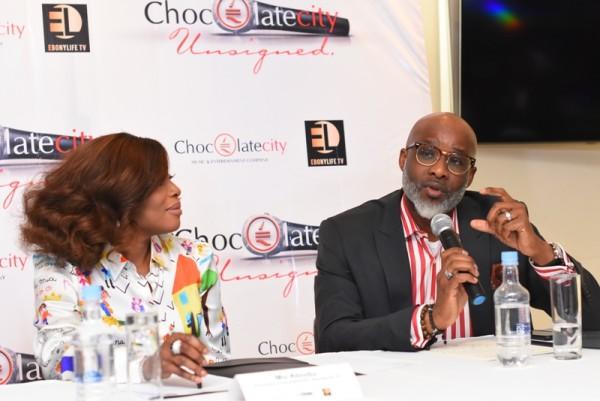 Mo Abudu and Lanre Olusola, Executive-Director-Ebony Life-TV