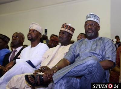 Adebola Williams and Dino Melaye