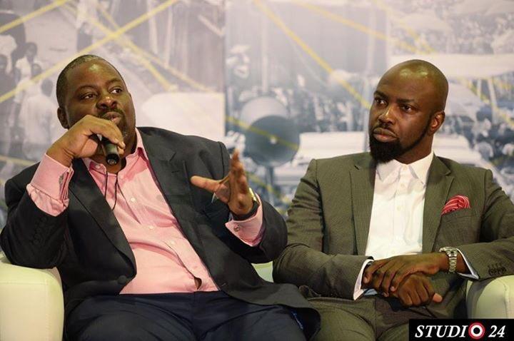 Obi Asika and Audu Maikori at Social Media Week Lagos (Photo Credit : Studio 24)