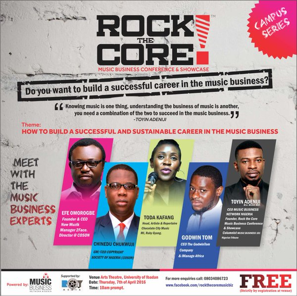 Rock The Core Music Business Conference