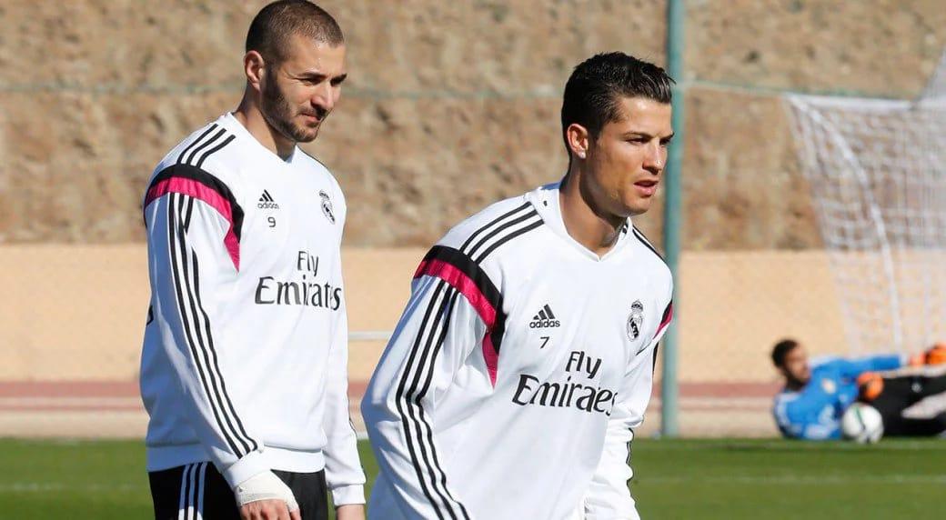 Cristiano Ronaldo and Karim Benzema