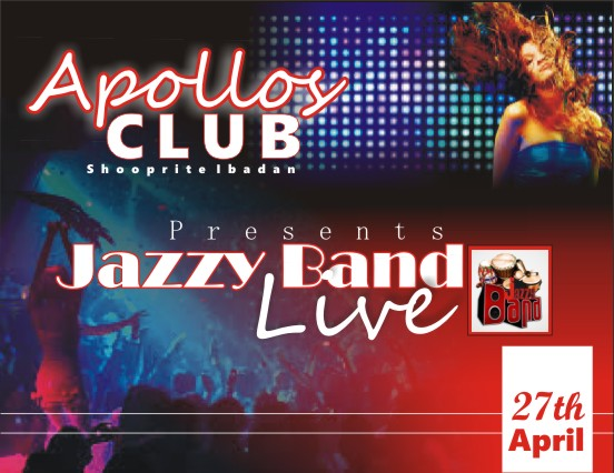 Are You in Search of Good Live Band Music? : Jazzy Band Set to Shutdown Apollos Club, Ibadan, Today
