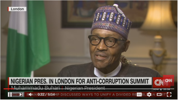 Muhammadu Buhari on CNN