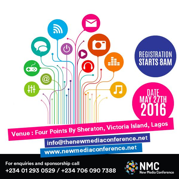 "New Media Conference 2016 : Nurturing a more Vibrant New Media Industry in Nigeria"", 