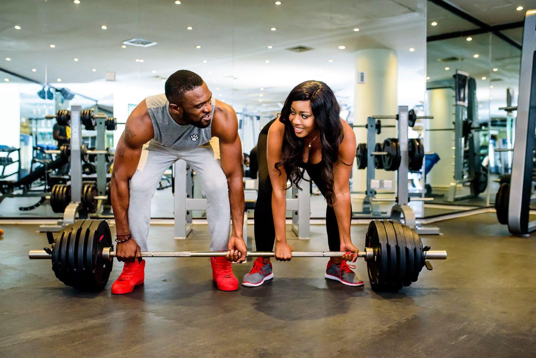 Praiz in Gym