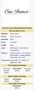 Sarz Co-Produce Drake -- One Dance