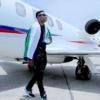 Wizkid with Jet