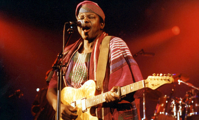 Legendary Juju Music King Sunny Ade Launches His Own Radio Station