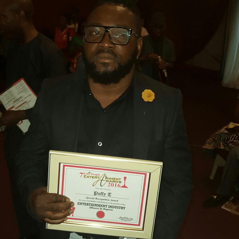 Puffy Tee Wins First Award in 20 Years