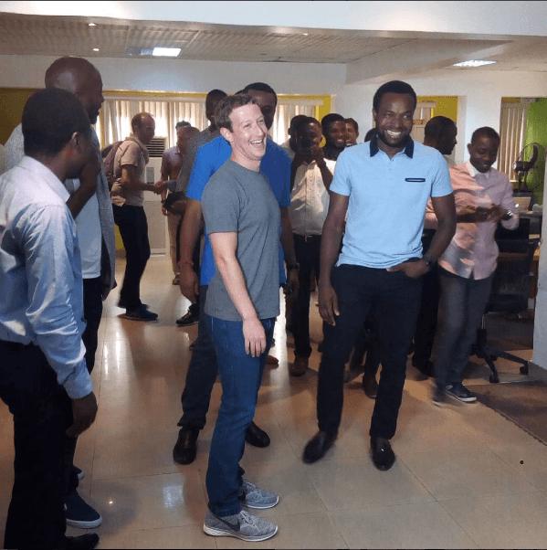 Mark Zuckerberg Visits Nigeria