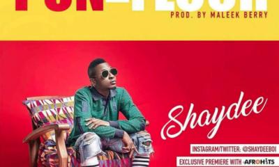 Shaydee – Pon Da Floor (Prod by Maleek Berry) Cover Art