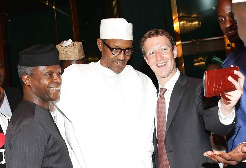 Why Mark Zuckerberg Change T-Shirts for Suit to Meet with President Buhari