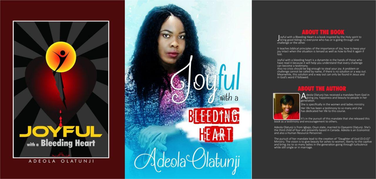 GY Book: Joyful with a Bleeding Heart by Adeola Olatunji