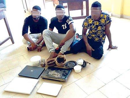 Yahoo Yahoo Boys Arrest in Ibadan