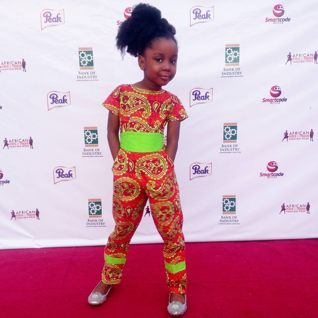 #AKTFW16 : Photos & Highlights From African Kids and Teens Fashion Week 2016 in Lagos