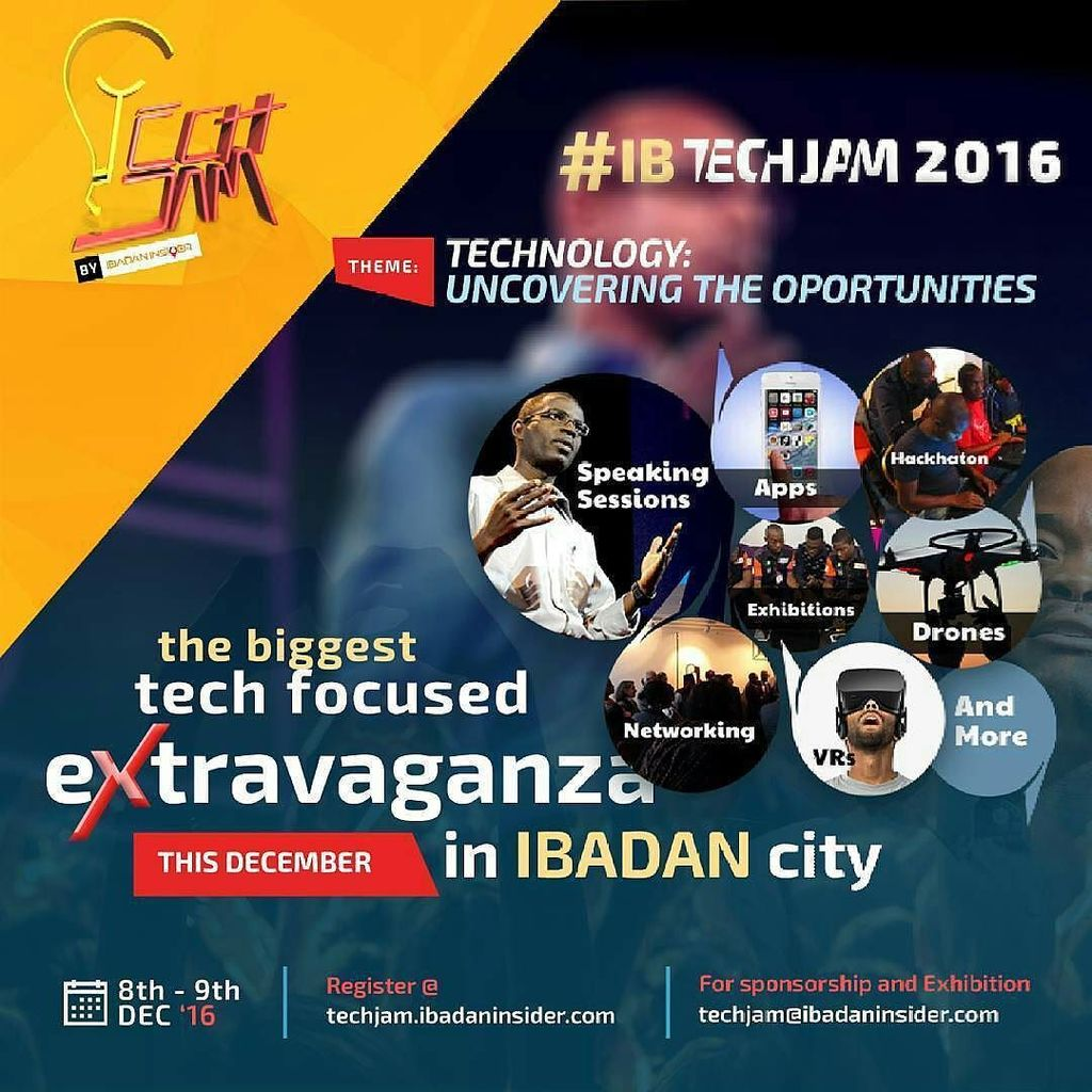 """Tech Event : Ibadan to Host IB Tech Jam 2016 """" Technology: Uncovering the Opportunities """""""