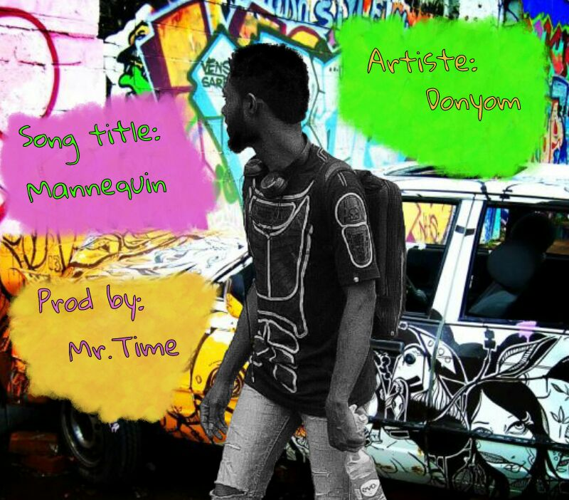 DonYom -- Mannequin (Prod by Mr Time) Cover Art