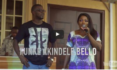 Funke Akindele and JJC Skillz