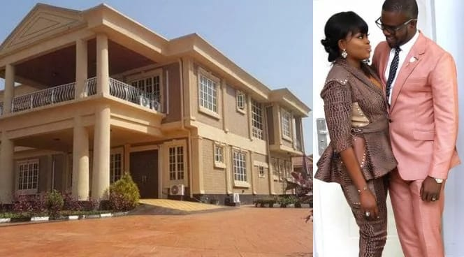 Funke Akindele and JJC Skillz New Mansion in Lagos