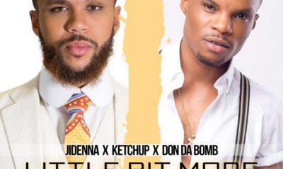 Jidenna -- A Little Bit More (Remix) Ft. Ketchup & Don Da Bomb Cover Art