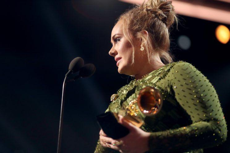 Adele at 2017 Grammy Awards