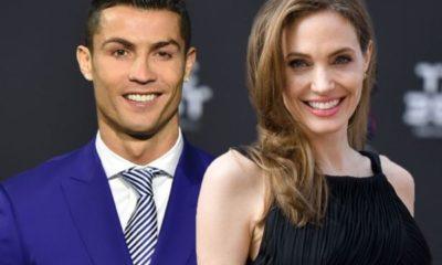 Cristiano Ronaldo & Angelina Jolie