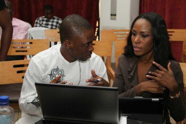 JJ Omojuwa and Linda Ikeji