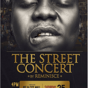Indigenous Yoruba Rapper Reminisce Set to Hold Street Concert