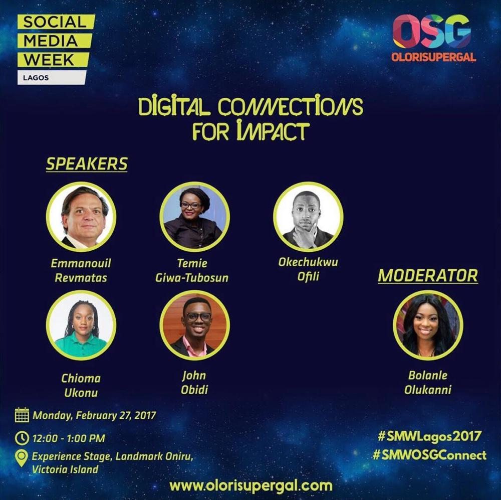 Social Media Week Olorisupergal GYOnlineNG