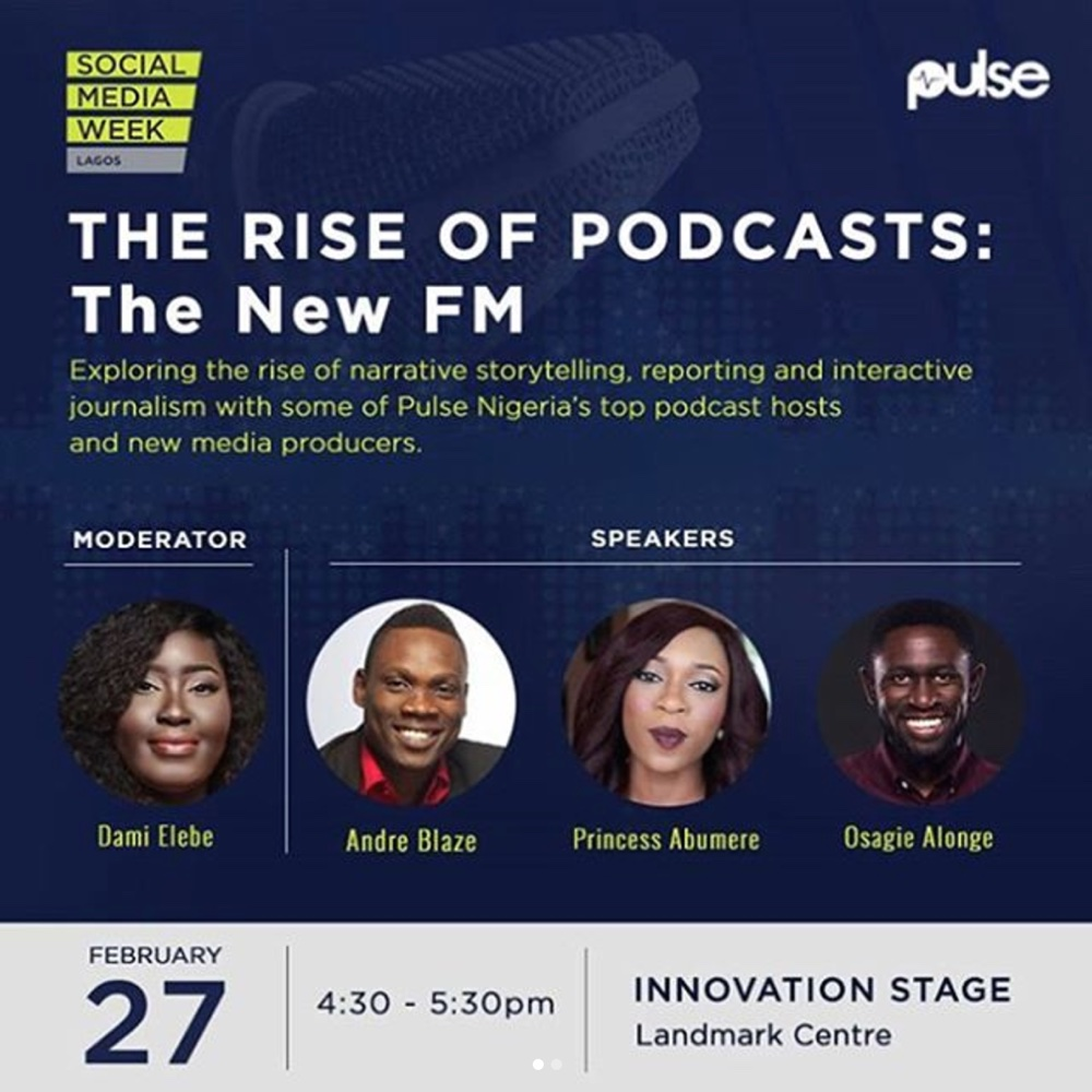 Social Media Week Pulse Bella Naija