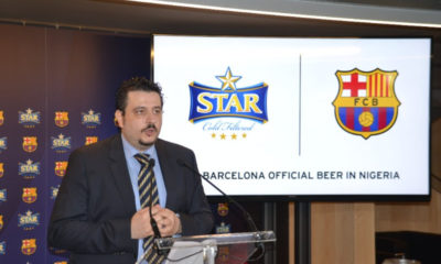 Star Lager Beer and FC Barcelona