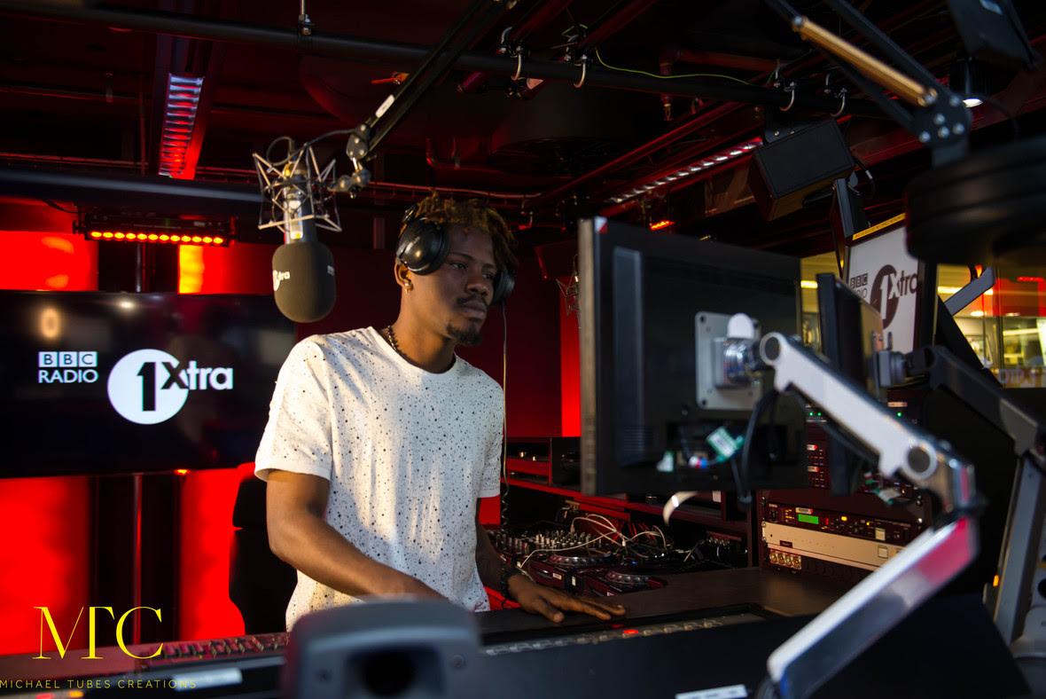 Ycee on BBC Radio 1 Xtra 02