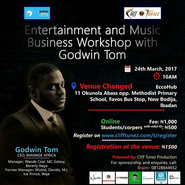 Godwin Tom Music Business Series