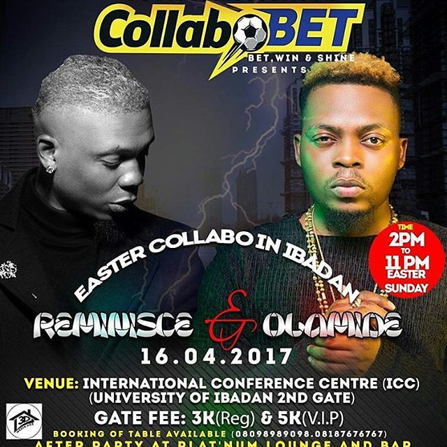 Collabo Bet with Olamide & Reminsce